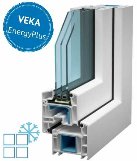 ferestre pvc energoeficiente- energyplus din profile de origine germana Veka